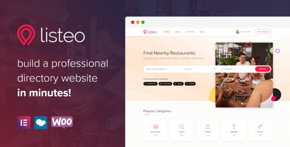 Download Nulled Listeo v1.6.05 - Directory & Listings With Booking WordPress