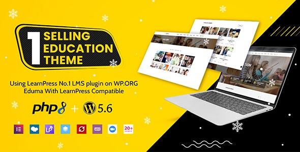 Download Nulled Eduma v4.3.6 - Education WordPress Theme