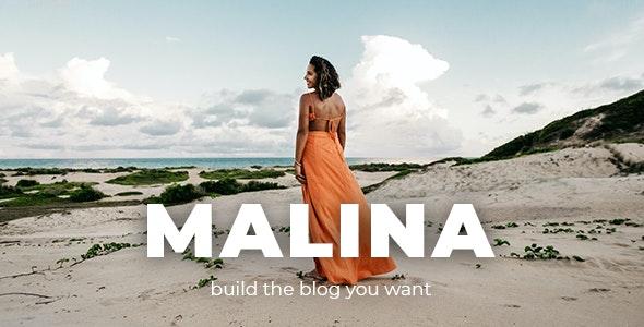 Download Nulled Malina v2.2.0 - Personal WordPress Blog Theme