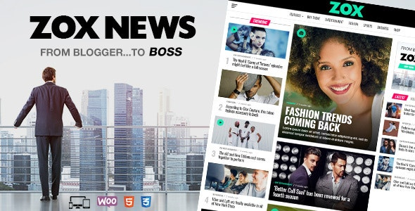 Download Nulled Zox News v3.9.0 - Professional WordPress News
