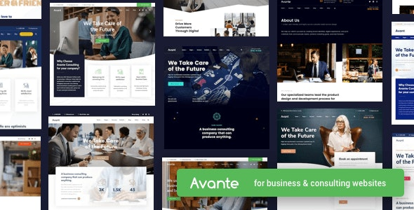 Download Nulled Avante v2.3.1 - Business Consulting WordPress