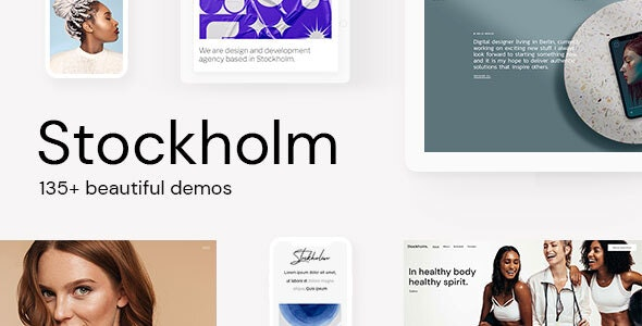 Download Nulled Stockholm v7.8 - A Genuinely Multi-Concept Theme