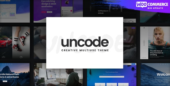 Download Nulled Uncode v2.3.6 - Creative Multiuse WordPress Theme