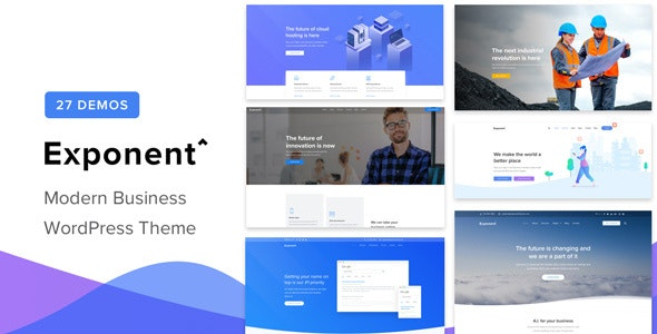 Download Nulled Exponent v1.2.9.0 - Modern Multi-Purpose Business Theme