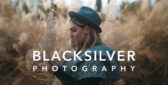 Download Nulled Blacksilver v8.5.3 - Photography Theme for WordPress