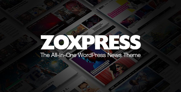 Download Nulled ZoxPress v2.03.0 - All-In-One WordPress News Theme