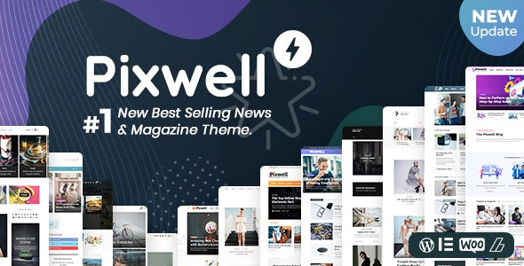 Download Nulled Pixwell v7.0 - WordPress Modern Magazine