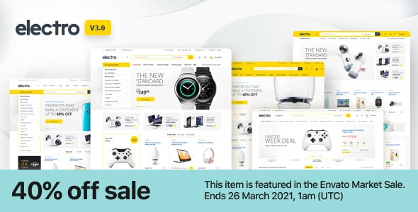 Download Nulled Electro v3.0.2 - Electronics Store WooCommerce Theme