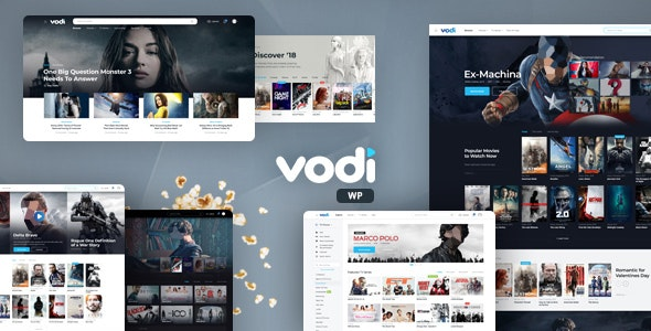 Download Nulled Vodi v1.2.5 - Video WordPress Theme for Movies & TV Shows