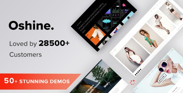 Download Nulled Oshine v6.9.9 - Creative Multi Purpose WordPress Theme