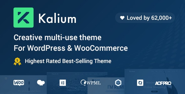 Download Nulled Kalium v3.2.1 - Creative Theme for Professionals