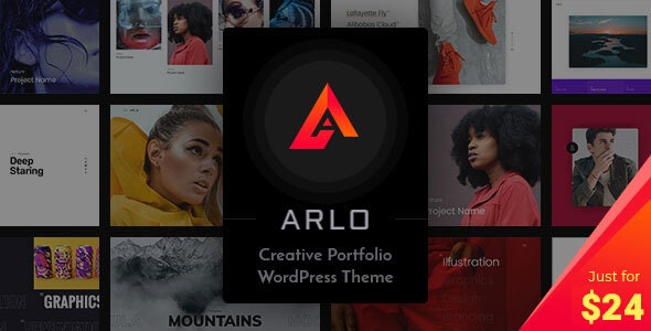 Download Nulled Arlo v3.6 - Portfolio WordPress Theme