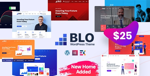 Download Nulled BLO v3.0 - Corporate Business WordPress Theme