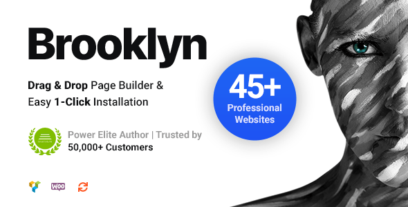 Download Nulled Brooklyn v4.9.6.6 - Creative Multi-Purpose Responsive WordPress Theme