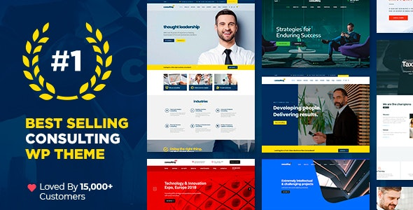 Download Nulled Consulting v6.1.1 - Business Finance WordPress Theme