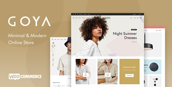 Download Nulled Goya v1.0.5.2 - Modern WooCommerce WordPress Theme