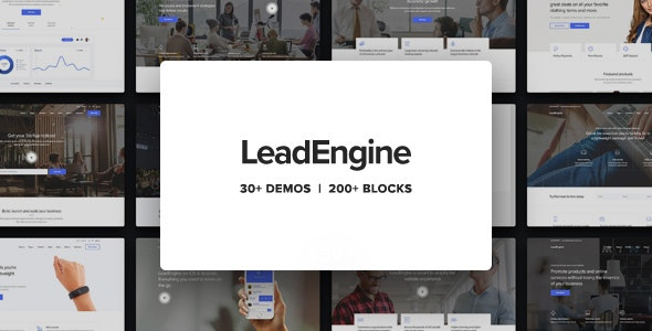 Download Nulled LeadEngine v2.9 - Multi-Purpose Theme with Page Builder