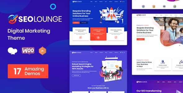 Download Nulled SEOLounge v3.0.2 - SEO Agency WordPress Theme