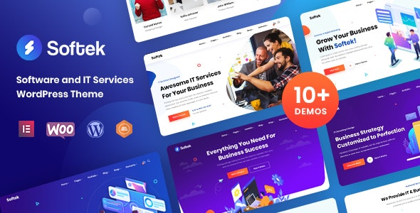 Download Nulled Softek v1.2.0 - Software & IT Solutions WordPress Theme
