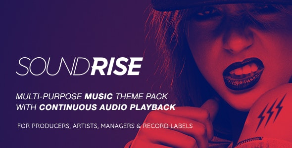 Download Nulled SoundRise v1.5.7 - Artists, Producers and Record Labels Theme