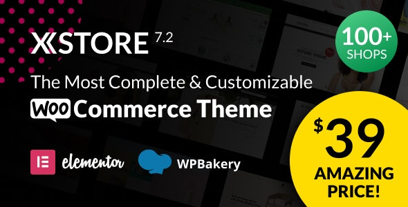Download Nulled XStore v7.2.7 - Responsive MultiPurpose WooCommerce WordPress Theme